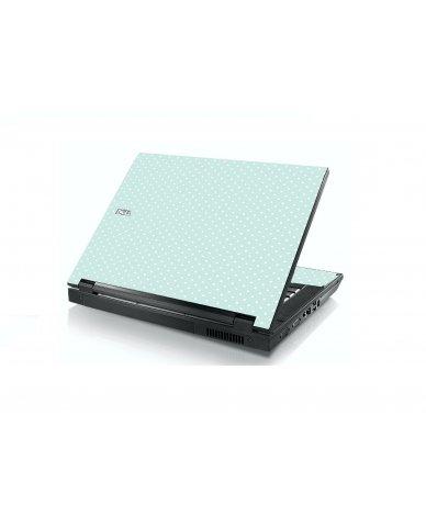 Light Blue Polka Dell E5400 Laptop Skin