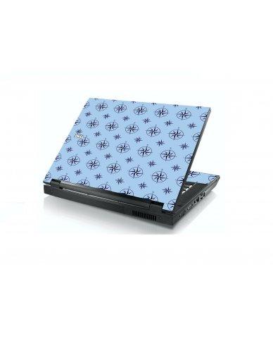 Nautical Blue Dell E5400 Laptop Skin