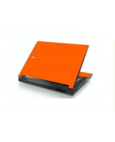 Orange Dell  E5400 Laptop Skin
