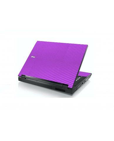 Purple Carbon Fiber Dell E5400 Laptop Skin
