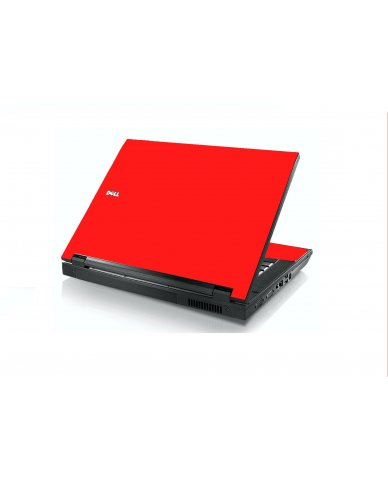 Red Dell E5400 Laptop Skin