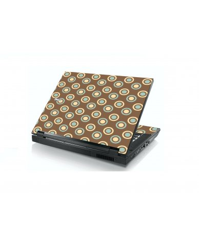 Retro Polka Dot Dell E5400 Laptop Skin