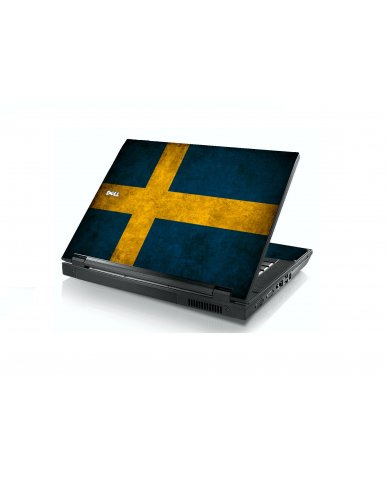 Swedish Flag Dell E5400 Laptop Skin