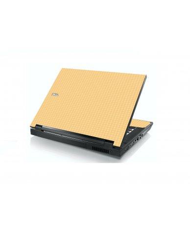 Warm Gingham Dell E5400 Laptop Skin