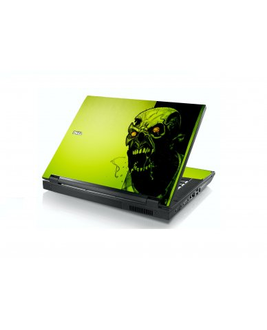 Zombie Face Dell E5400 Laptop Skin