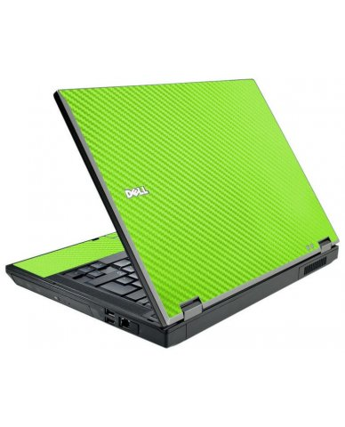 Green Carbon Fiber Dell E5410 Laptop Skin