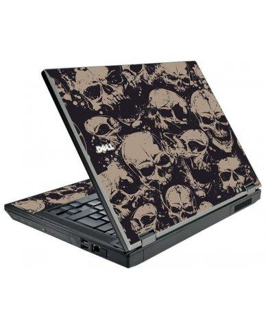 Grunge Skulls Dell E5410 Laptop Skin