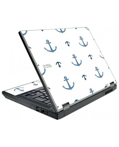 Multi Blue Anchors Dell E5410 Lapto P Skin