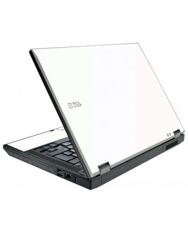 White Dell E5410 Laptop Skin