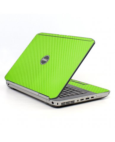 Green Carbon Fiber Dell E5420 Laptop Skin