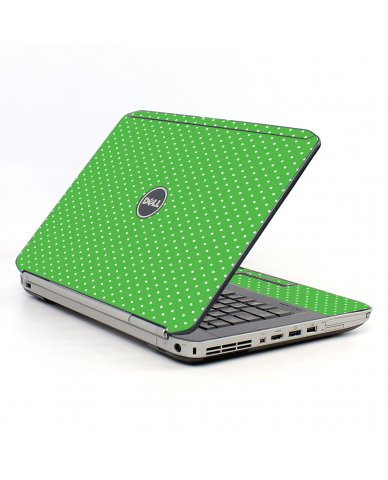 Kelly Green Polka Dell E5420 Laptop Skin