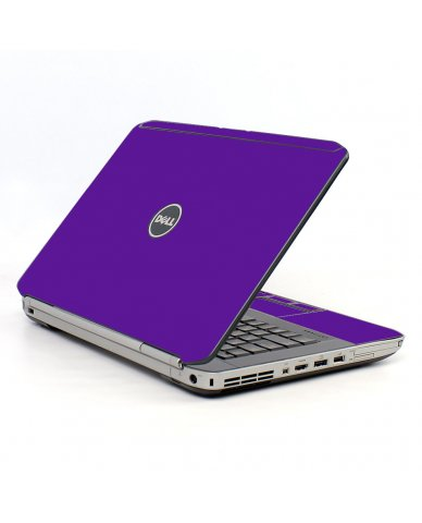 Purple Dell E5420 Laptop Skin