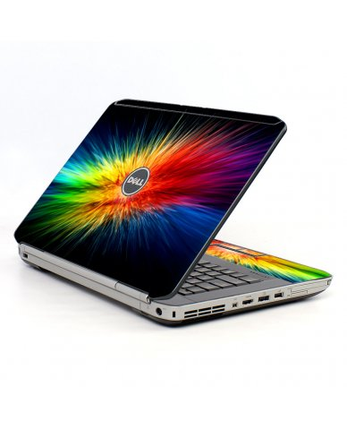 Rainbow Burst Dell E5420 Laptop Skin