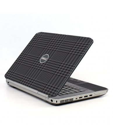 Black Plaid Dell E5430 Laptop Skin