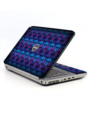 Blue Skulls Dell E5430 Laptop Skin