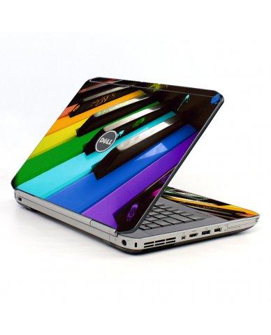 Colorful Piano Dell E5430 Laptop Skin