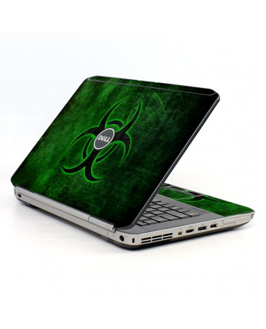 Green Biohazard Dell E54430  Laptop Skin