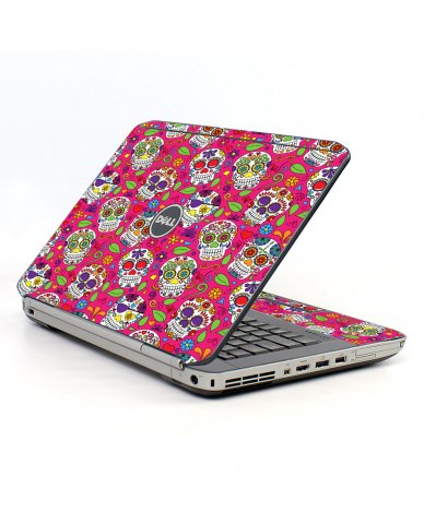 Pink Sugar Skulls Dell E5430 Laptop Skin