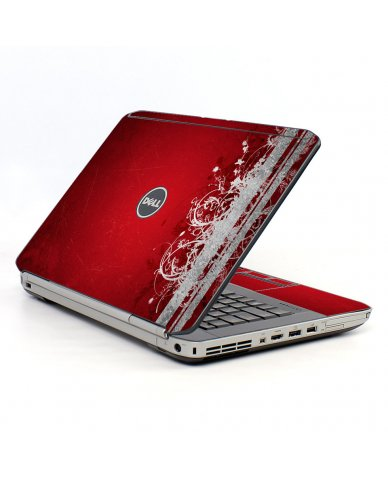 Red Grunge Dell E5430 Laptop Skin