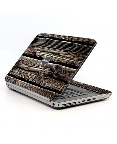 Wood Dell E5430 Laptop Skin