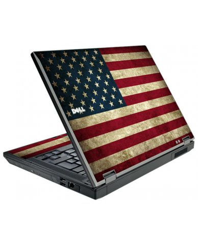 American Flag Dell E5500 Laptop Skin