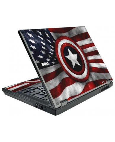 Capt America Flag Dell E5500 Laptop Skin