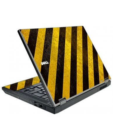 Caution Stripes Dell E5500 Laptop Skin