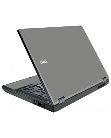 Grey Silver Dell E5500 Laptop Skin