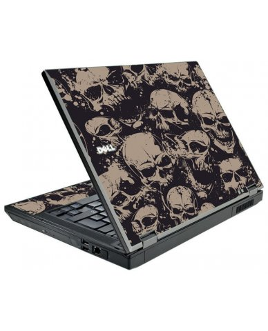 Grunge Skulls Dell E5500 Laptop Skin