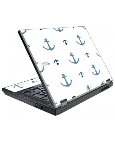 Multi Blue Anchors Dell E5500 Laptop Skin