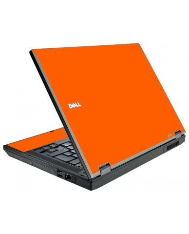 Orange Dell E5500 Laptop Skin