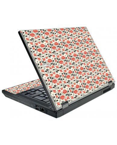 Pink Black Roses Dell E5500 Laptop Skin