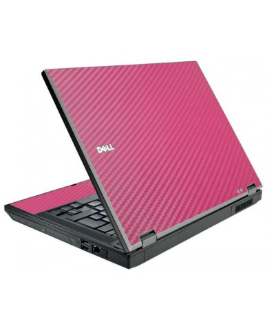 Pink Carbon Fiber Dell E5500 Laptop Skin