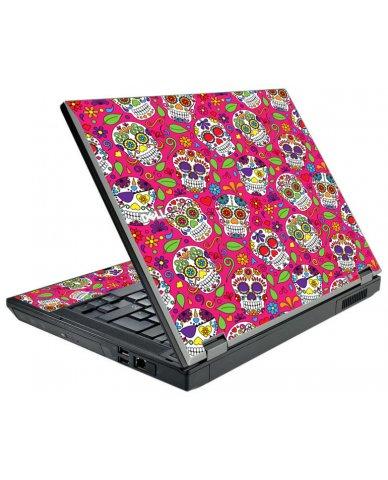Pink Sugar Skulls Dell E5500 Laptop Skin
