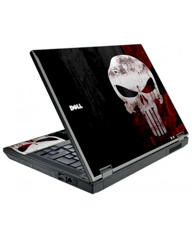Punisher Skull Dell E5500 Laptop Skin
