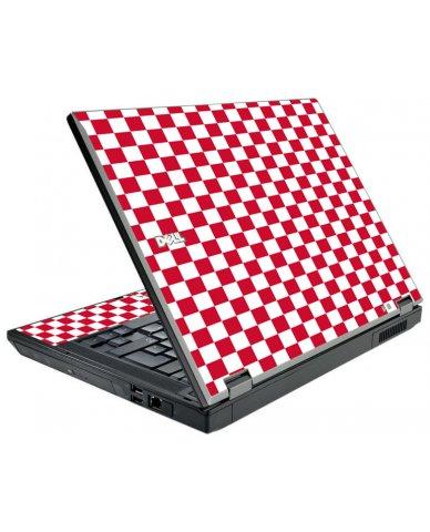 Red Check Dell E5500 Laptop Skin