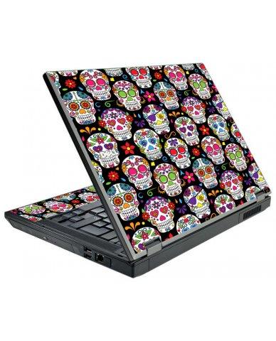 Sugar Skulls Seven Dell E5500 Laptop Skin