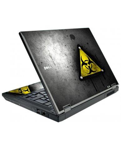 Black Caution Dell E5510 Laptop Skin