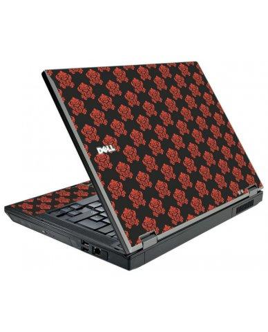 Black Flower Burst Dell E5510 Laptop Skin