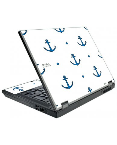 Blue Anchors Dell E5510 Laptop Skin