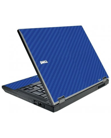 Blue Carbon Fiber Dell E5510 Laptop Skin
