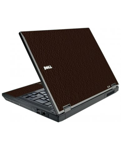 Brown Leather Dell E5510 Laptop Skin