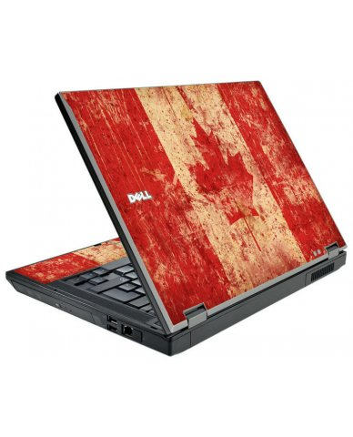 Canada Flag Dell E5510 Laptop Skin
