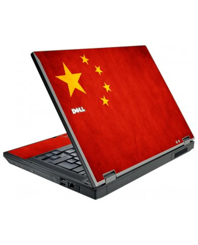 Flag Of China Dell E5510 Laptop Skin