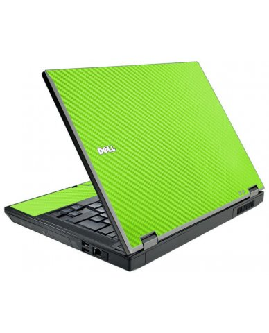 Green Carbon Fiber Dell E5510 Laptop Skin