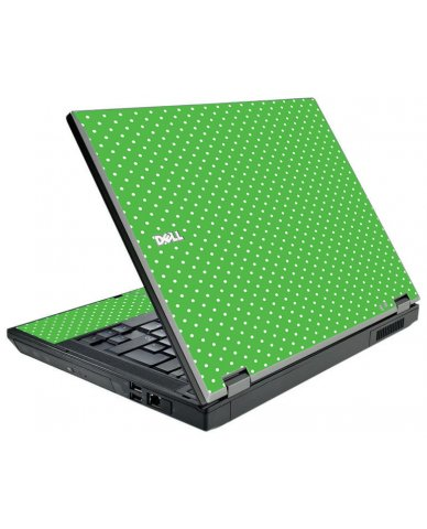 Kelly Green Polka Dell E5510 Laptop Skin