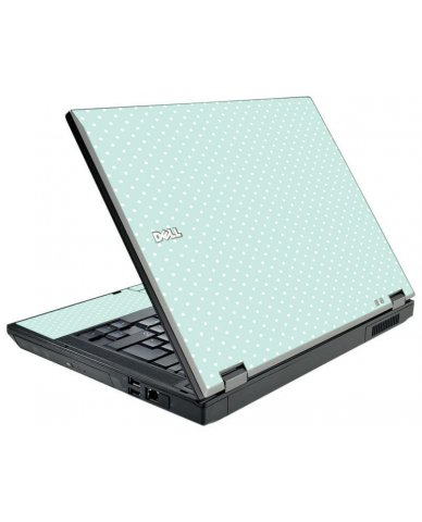 Light Blue Polka Dell E5510 Laptop Skin