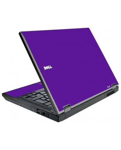 Purple Dell E5510 Laptop Skin