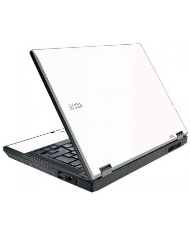 White Dell E5510 Laptop Skin