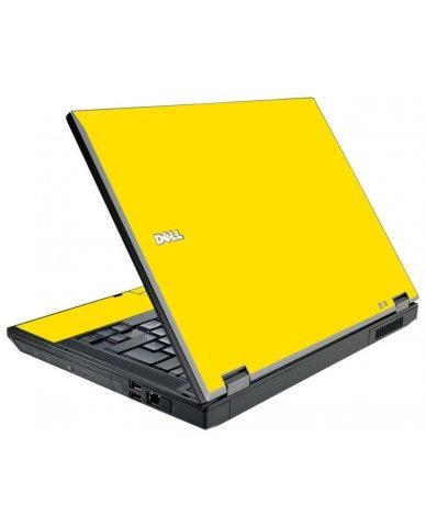 Yellow Dell E5510 Laptop Skin